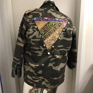 beautiful stories Jackets & Coats - Camouflage jacket